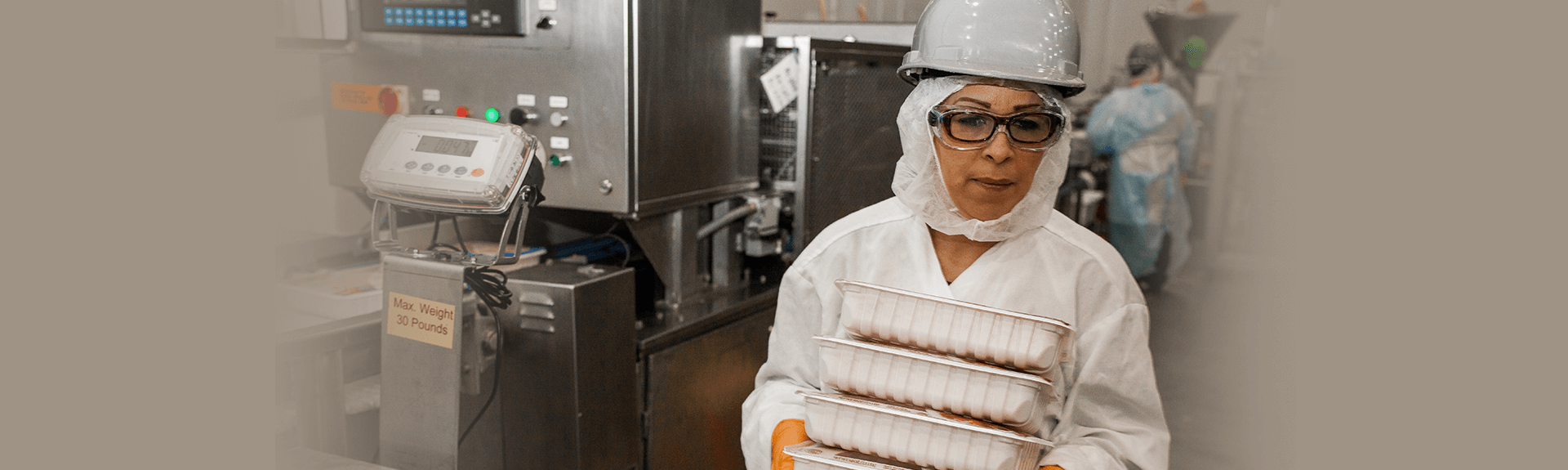 Image of a female employee working